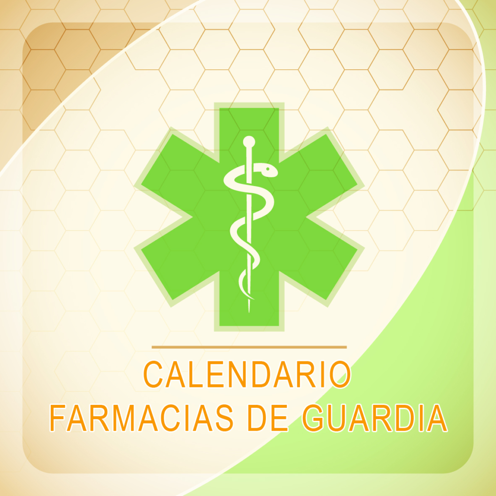 CALENDARIO FARMACIAS DE GUARDIA