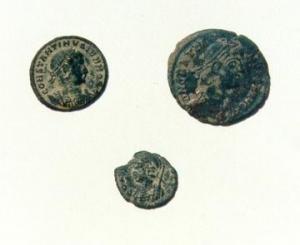 Monedas encontradas
