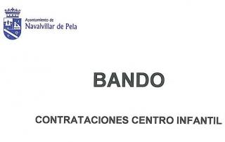 1- PANTALLAZO BANDO CENTRO INFANTIL