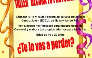 2017-01-25-TALLER DECORA TU PHOTOCALL-CARTEL