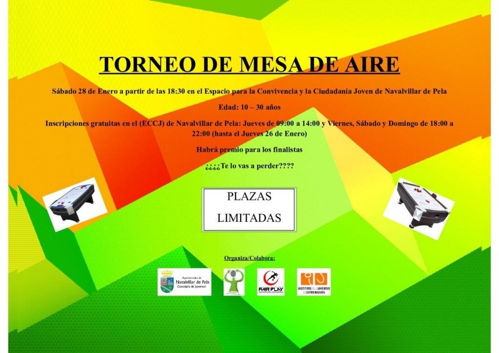 TORNEO DE MESA