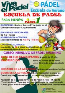 ESCUELA DE PADEL