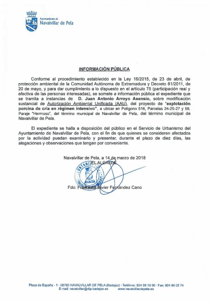 180316-AUTORIZACION AMBIENTAL UNIFICADA SOBRE EXPLOTACION PORCINA DE CRIA EN REGIMEN INTENSIVO-page-001