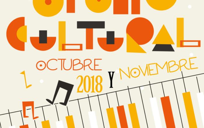 CARTEL OTOÑO CULTURAL 2018